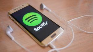 Spotify se para solo